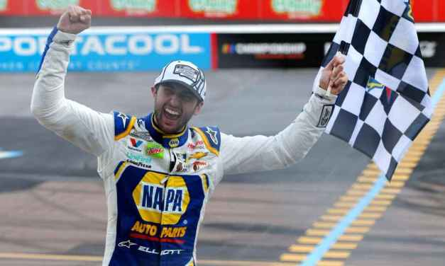 Elliott, 24, 3rd-youngest to win NASCAR Cup title