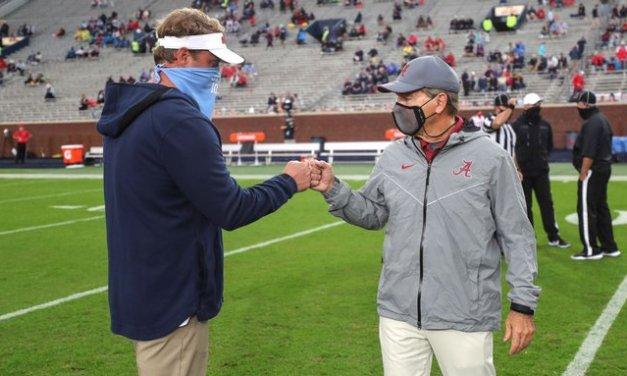 Asked about Auburn job, Kiffin evokes Saban