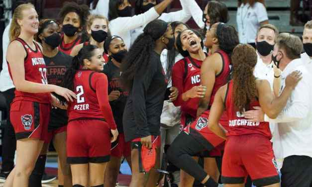It's over: NC St. women halt S. Carolina run at 29