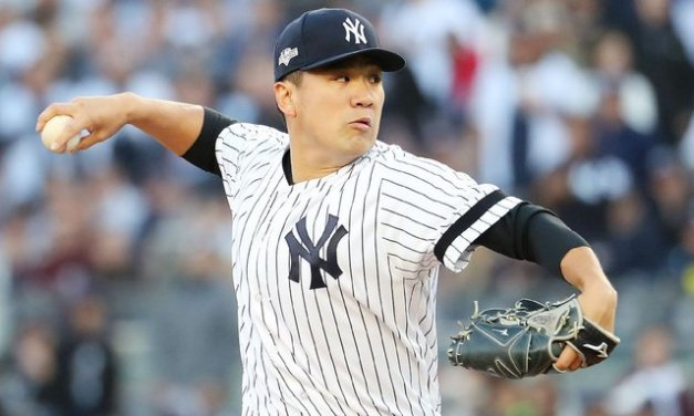 Tanaka returns to Japan after 7 years with Yanks