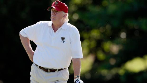 2022 PGA Championship leaving Trump National