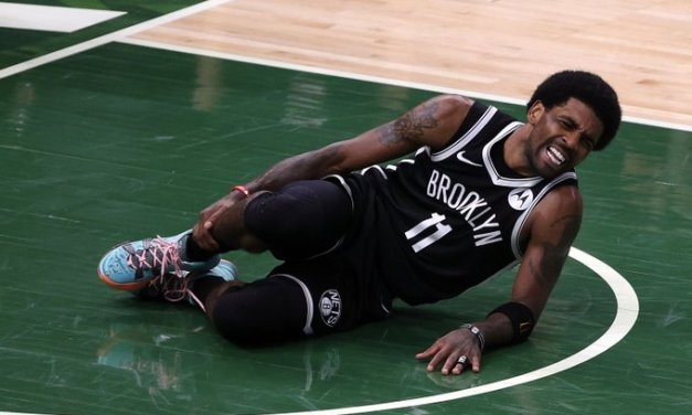 Nets lose Irving to ankle injury, Game 4 to Bucks