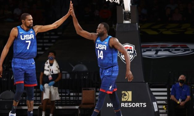 Team USA rights ship with blowout of Argentina