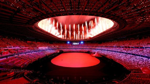 Tokyo Olympics open with muted ceremony