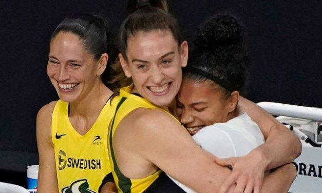 Storm to visit White House, celebrate WNBA title