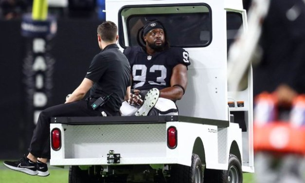 Source: Raiders DT McCoy out for rest of season
