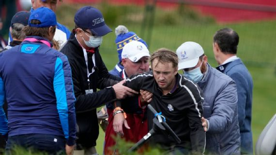 'Harry Potter' actor Felton collapses at Ryder Cup