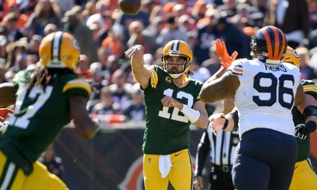 Rodgers taunts Bears fans after TD: 'I own you'
