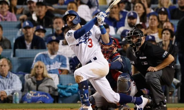 Taylor: 'Surreal' to hit 3 HRs, keep Dodgers alive