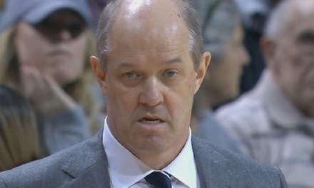 Pitt Head Coach Kevin Stallings Tried and Failed to Break His Clipboard During Record Setting Loss to Notre Dame