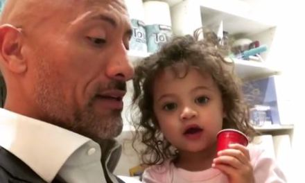 The Rock's Daughter in 'Scary' Emergency