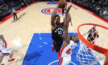 DeMar DeRozan Drops the Hammer in one of the Best Dunks Of All-Time