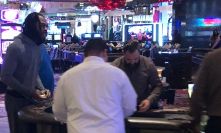 Richard Sherman Spotted at a Craps Table in Vegas