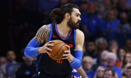 Thunder Big Man Steven Adams Accidentally Knocked His Teammate Out