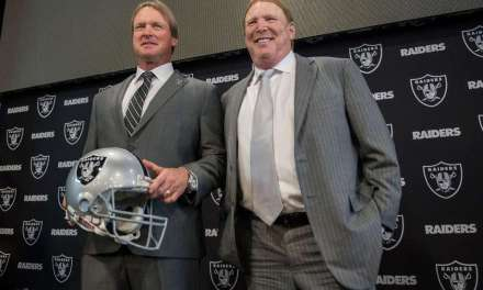 Jon Gruden and Mark Davis Hit up an NBA Game and the Internet Had a Field Day