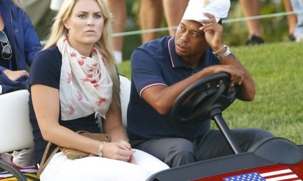 Lindsey Vonn Was Rooting For Tiger This Weekend and Possibly Cyberstalking Him