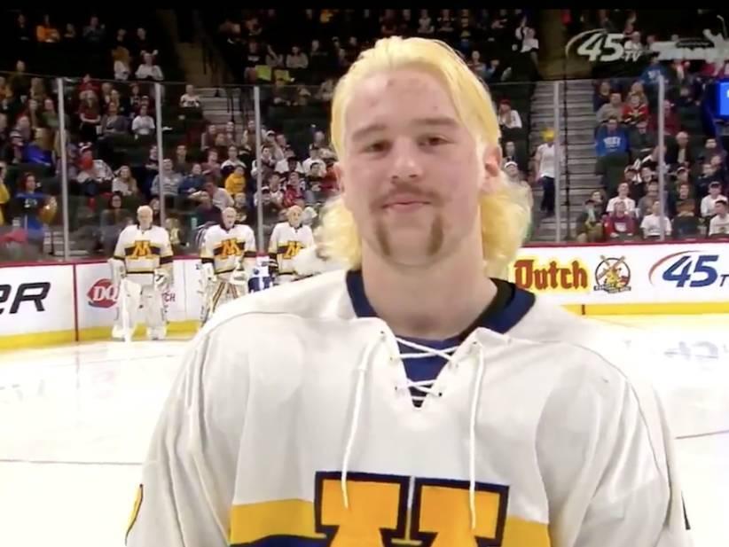 2018 Minnesota State High School All Hockey Hair Team