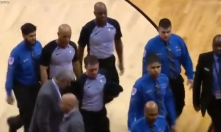 Referees Got a Full Security Escort off the Floor in Toronto
