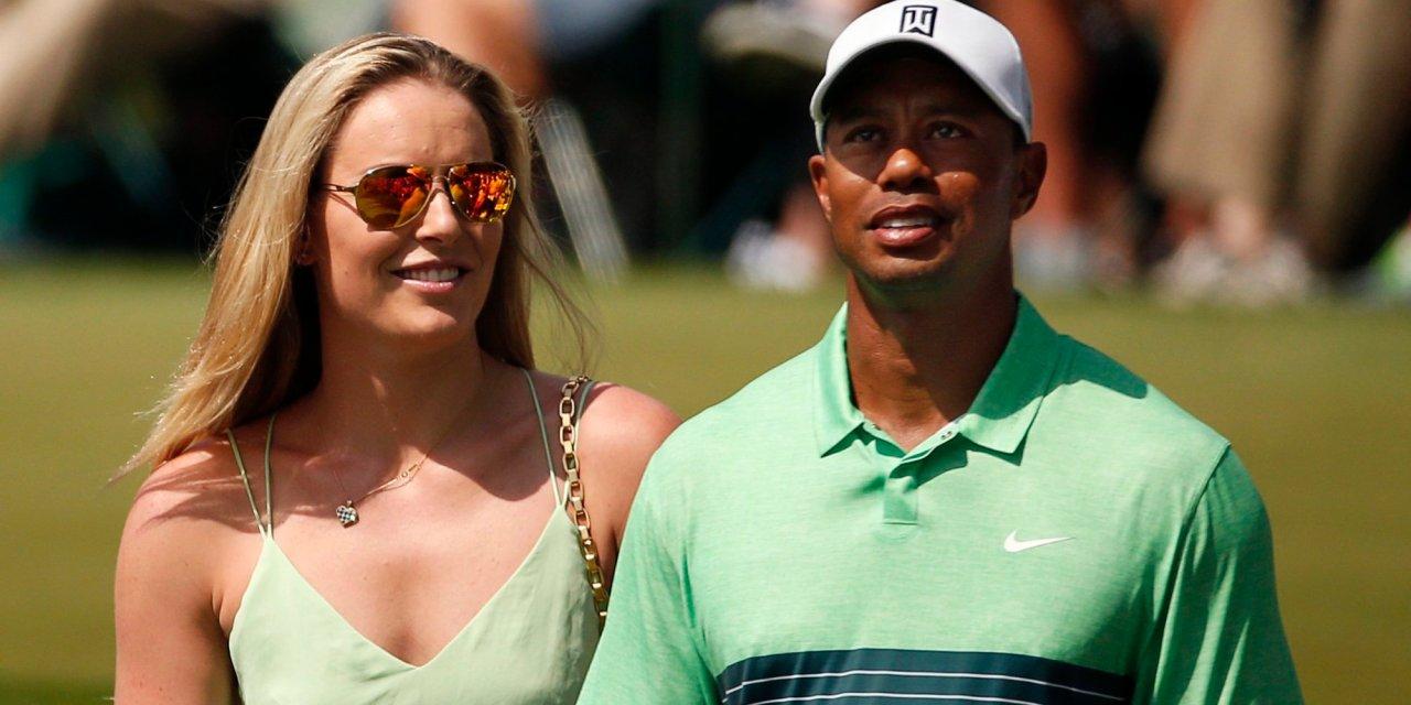 Lindsey Vonn Can't get Enough of Tiger on Sundays