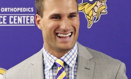 The Vikings Wooed Kirk Cousins By Giving his Parents Jerseys