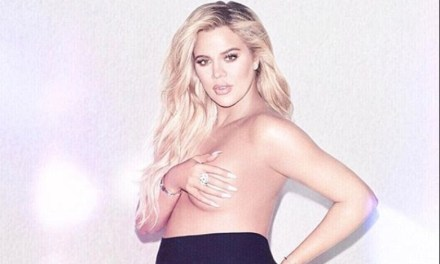 NBA Baby Mama to be Khloe Kardashian Posts Racy Maternity Shoot