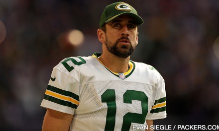 Aaron Rodgers Getting in a Workout with Another Girl?