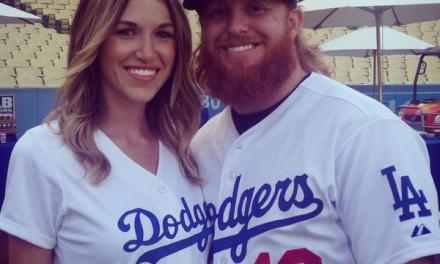 Justin Turner's Wife Posts Sweet Message for her Husband