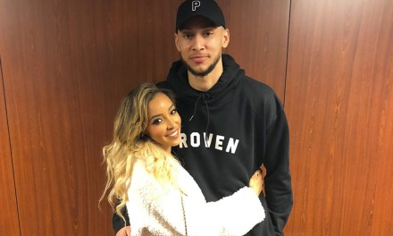 Ben Simmons Confirms Relationship with Tinashe after 76ers Game