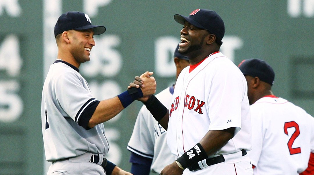 7d9c0687a Retired Boston Red Sox star David Ortiz picked the New York Yankees to win  the AL East. He points out their new lineup that he says nobody in the  division ...