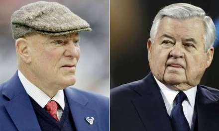 Texans Owner Bob McNair Defends Panthers Owner Jerry Richardson
