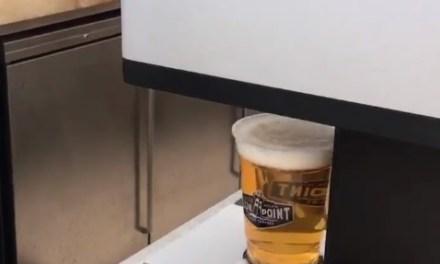 The New York Yankees are Introducing Beer Foam Art at Yankee Stadium