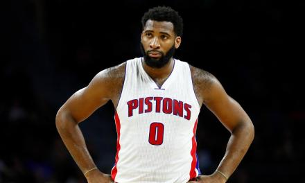 Andre Drummond Ripped his Jersey in Half after being Ejected