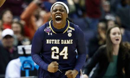The Reactions From the Notre Dame Buzzer Beater Were Priceless