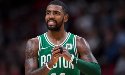 Kyrie Irving Has a New Boo-Thang