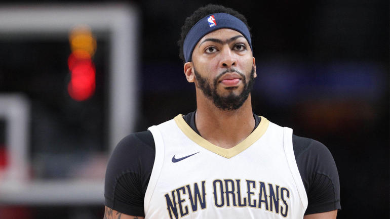 Anthony Davis Threw Down a Ridiculous Alley-Oop