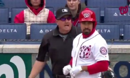 Dave Martinez gets his Money's Worth after an Absurd Ejection of Anthony Rendon