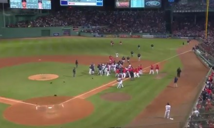 The Red Sox-Yankees Rivalry is Back on after Bench Clearing Brawl in Boston