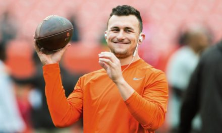 Johnny Manziel Doing Johnny Football Things in his Second Spring League Game