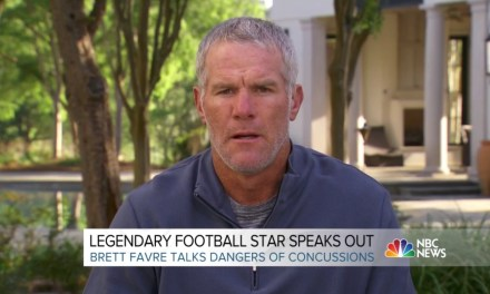 Brett Favre Says He's Had Hundreds, Probably Thousands of Concussions