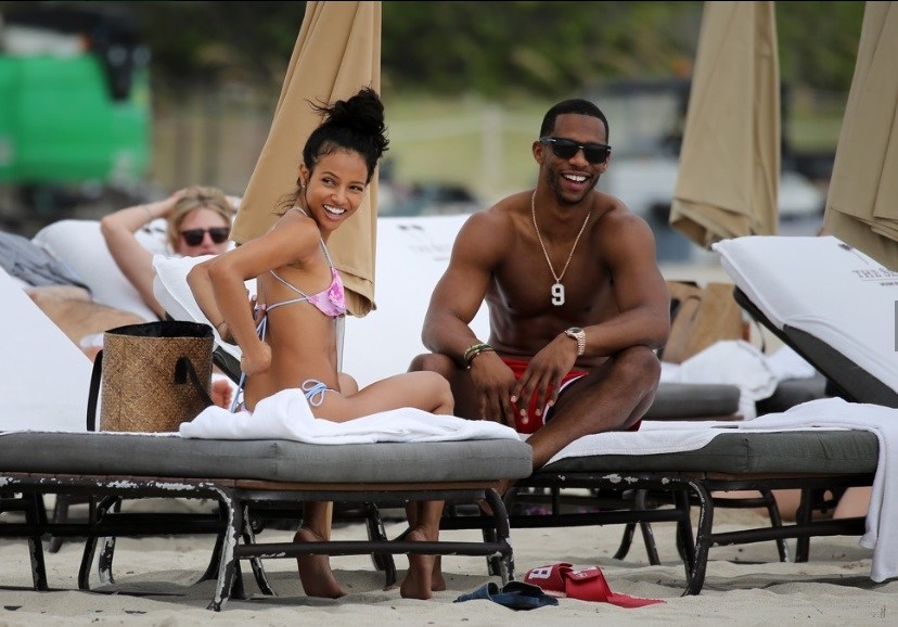 Victor Cruz and Girlfriend Hit up Miami Beach