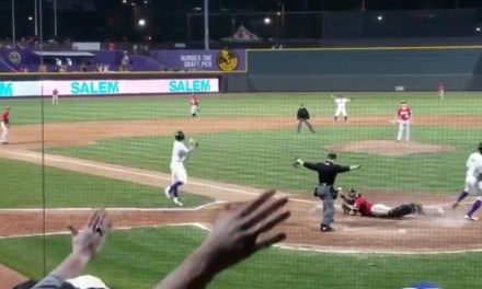 White Sox Minor League Team Stole Home to Win a Game