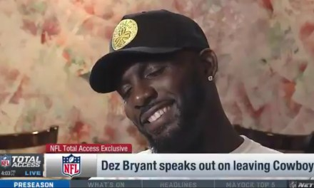 Dez Bryant Questioned the Cowboys Coaching Staff's Manhood following his Release