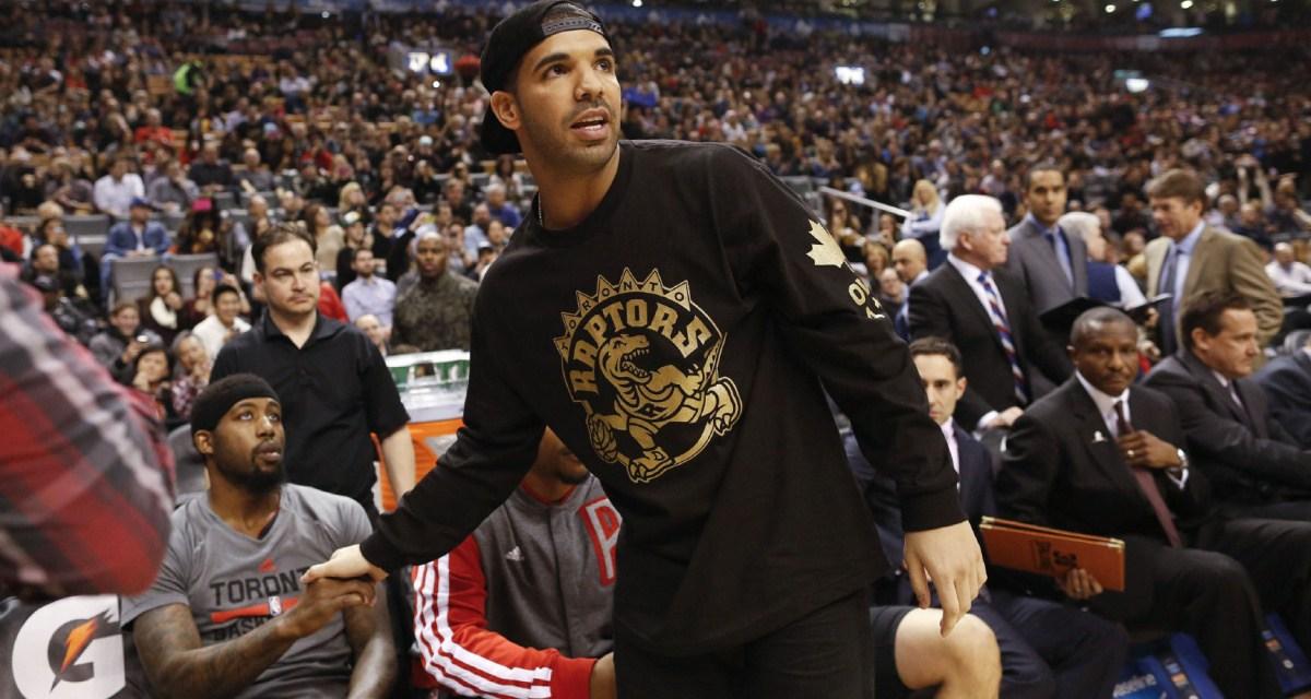 Drake and John Wall Exchange Shots before Playoff Game in Toronto