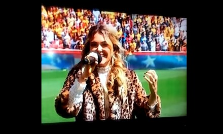 Pop Singer Rachel Platten Screws Up the National Anthem