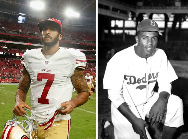 Colin Kaepernick Shares Jackie Robinson's Stance on the National Anthem