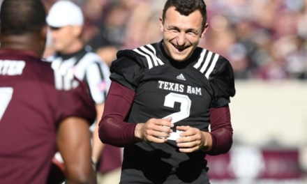 Johnny Manziel Returned 61-Yard Field Goal At Texas A&M Spring Game