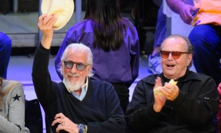 George Lopez Gets Custom Kobe Denim Jacket Gifted by Lou Adler