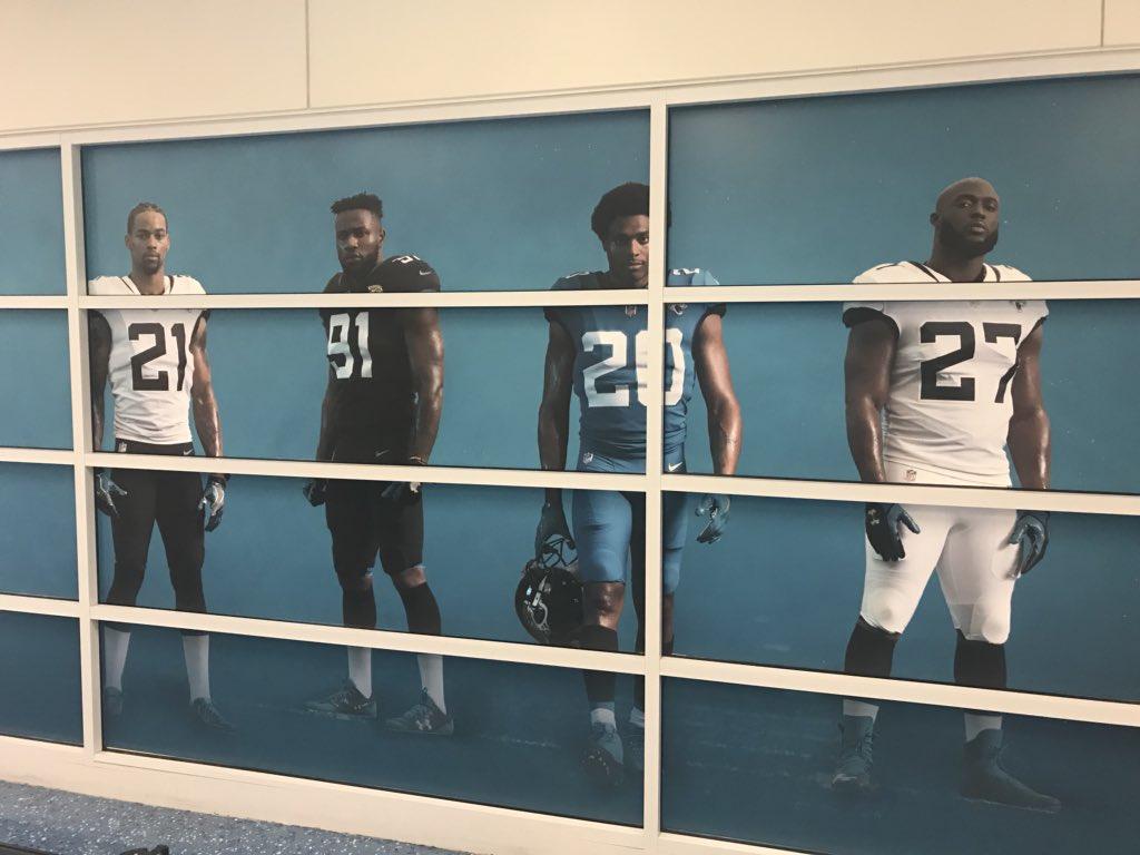 80e1af68 Jacksonville Jaguars New Uniform Leaked at the Airport - Sports Gossip