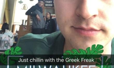 The Greek Freak Gets Shut Down at Mexican Restaurant