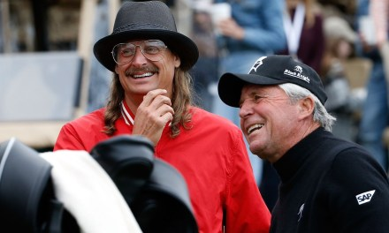 Kid Rock Nails 40 Foot Putt Then Hijacks Microphone